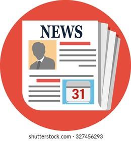 News .Flat Icon