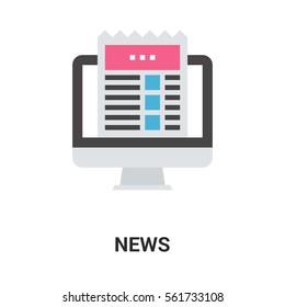 news icon concept.