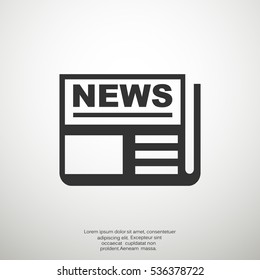 news icon Vector.
