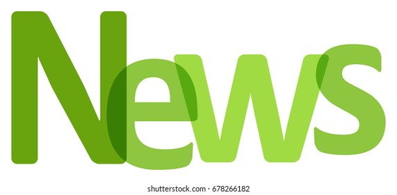 News letters banner green on a white background.