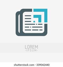 News logo design