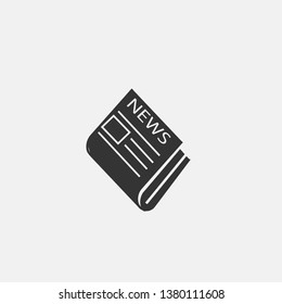 News paper vector icon