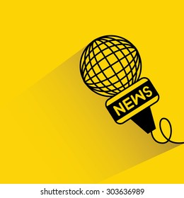 news, reporter microphone