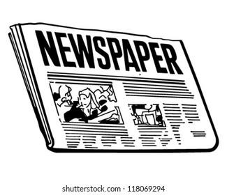 Clip Art Newspaper Images, Stock Photos & Vectors | Shutterstock