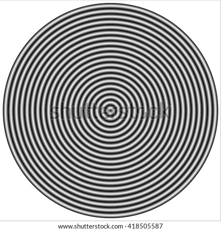 Newton Rings Interference Pattern Stock Vector Royalty Free Classy Interference Pattern