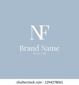 NF logo elegance skyblue