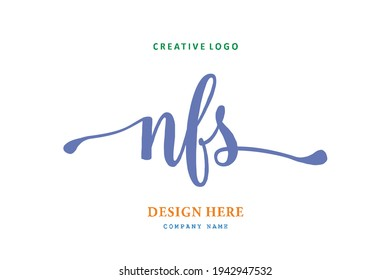 NFS lettering logo is simple, easy to understand and authoritative