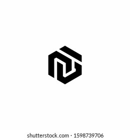NG GN logo initial letter template design vector