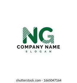 NG Letter Logo Design. NG letter logo Vector Illustration - Vector