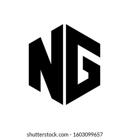 NG Logo can be used for company, symbol, icon, and others.