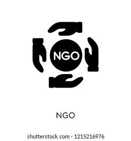 Ngo icon. Ngo symbol design from Political collection. Simple element vector illustration on white background.