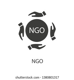 Ngo icon. Ngo symbol design from Political collection. Simple element vector illustration on white background