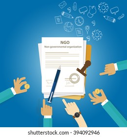 NGO Non Government Organization Types of business corporation organization entity