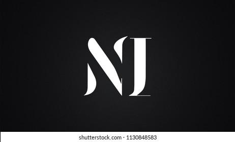 NI Letter  logo Design Template Vector