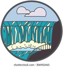 Niagara Falls icon