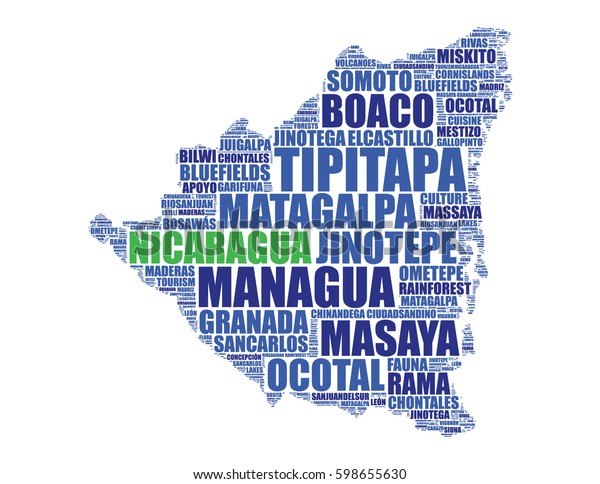 Nicaragua Map Silhouette Vector Tag Cloud Stock Vector ... on pueblo nuevo nicaragua map, poneloya nicaragua map, santa clara nicaragua map, isla de ometepe nicaragua map, masaya nicaragua map, san francisco libre nicaragua map, santa teresa nicaragua map, el sauce nicaragua map, jalapa nicaragua map, jinotepe nicaragua map, boaco nicaragua map, corinto nicaragua map, camoapa nicaragua map, laguna de apoyo nicaragua map, bonanza nicaragua map, san juan nicaragua map, chichigalpa nicaragua map, siuna nicaragua map, miramar nicaragua map,