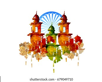 nice and beautiful abstract for 15th of August or Independence Day of India with nice and creative design illustration.