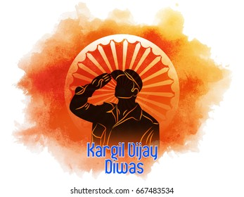 nice and beautiful abstract, banner or poster for Kargil Vijay Diwas with nice and creative design illustration.