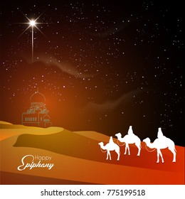 nice and beautiful abstract for Happy Epiphany Day with nice and creative design illustration.