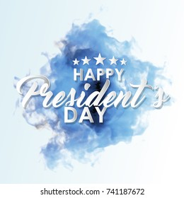 nice and beautiful abstract for Happy President Day with nice and creative design illustration