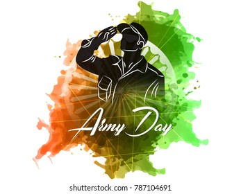 nice and beautiful abstract for Indian Army Day with nice and creative design illustration.
