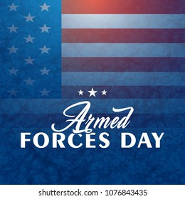 nice and beautiful abstract or poster for Armed Forces Day with nice and creative design illustration in a creative background.