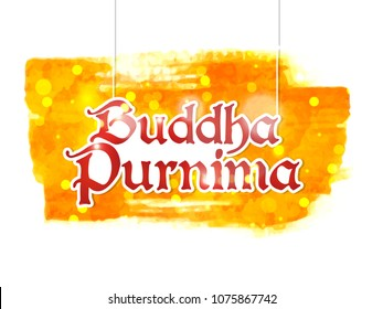 nice and beautiful abstract or poster for Buddha Purnima or Vesak Day or Wesak Day with nice and creative design illustration.