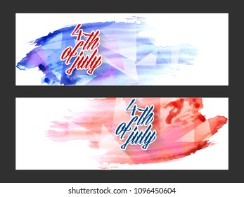 fbfa097960e nice and beautiful header or banner for 4th of July or Independence Day of  USA with