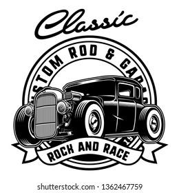 Nice Classic Custom hotrod car