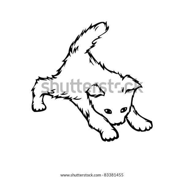 Nice cute cat (vector)