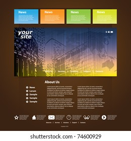 Nice Website Template