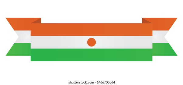 Niger  flag. Simple vector Niger   flag