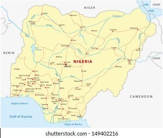 Nigeria road map