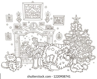 Fire Coloring Book Pages Stock Vectors Images Vector Art