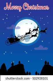 Night Before Christmas Silhouette