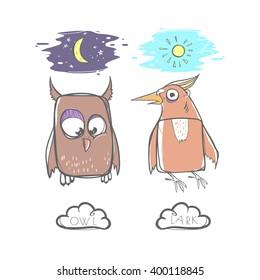 Night Owls vs Morning Larks. What Type of Bird Are You?