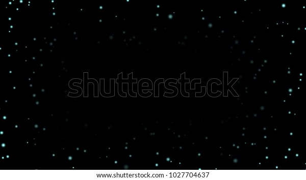 Night Sky Blue Stars On Black Stock Vector Royalty Free 1027704637