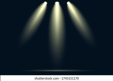 Nachtlicht im Hintergrund