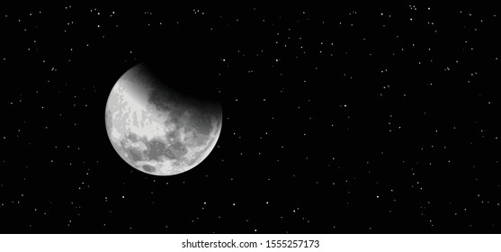 Night starry sky half full moon Equinox planet Earth day Earth's Waning Crescent Gibbous waxing moon means Vector Moonlight evening  astrology symbol icon icons sign Phases funny Solar eclipse sun