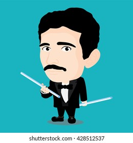 Nikola Tesla Character