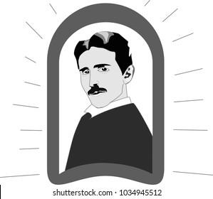 nikola tesla Serbian-American inventor