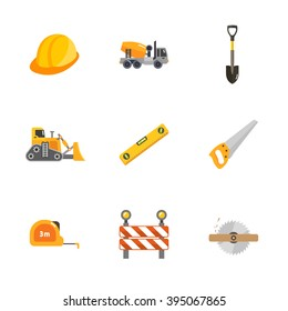 nine under construction icons