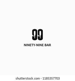 NINETY-NINE BAR LOGO