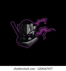 Ninja assasin logo mascot