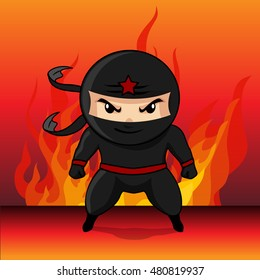 Ninja Assassin cartoon vector 10,hero cartoon vector