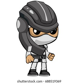 Ninja with cool style