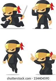 Ninja Customizable Mascot
