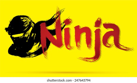 Ninja Fonts Images Stock Photos Vectors Shutterstock