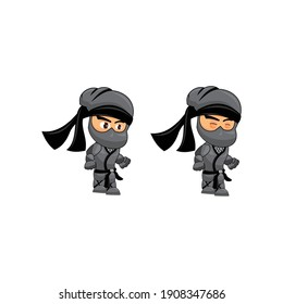Ninja Game Sprites Idle  Suitable for side scrolling, action, and adventure game