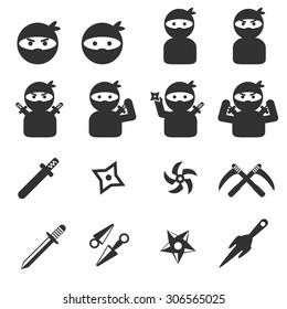 ninja icon set